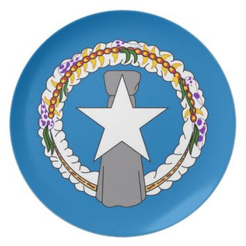Northern Mariana Islands Flag Plate