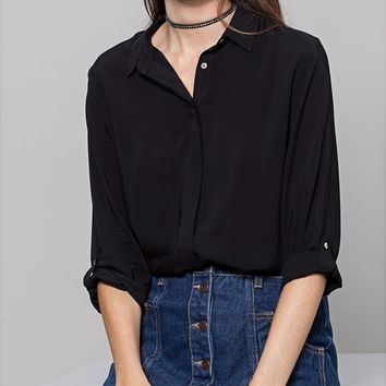 Basic fit shirt - SHIRTS - WOMAN | Stradivarius United Kingdom