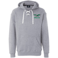 Retro Philadelphia Eagles Inspired Heavyweight Sport Lace Hoodie