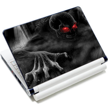 """Red Eye Skull Art Anti-Slip Laptop Sticker Skin Decal Cover Protector For 11.6"""" -15.4"""" Sony Toshiba HP Dell Acer Thinkpad"""