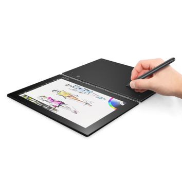 "Lenovo Yoga Book with WiFi 10.1"" 2-in-1 Touchscreen Tablet PC 64GB Windows 10 - Walmart.com"