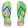 Elsa Flower-Flip Flops: On our Way Flip Flops