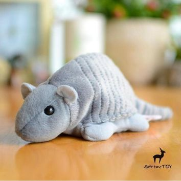 Armadillo Stuffed Animal Plush Toy 6""