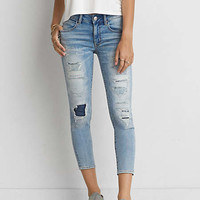 Jegging Crop, Patched And