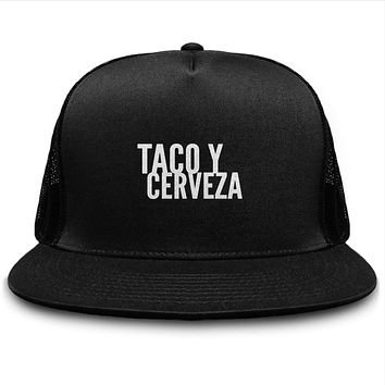 Taco Y Cerveza Foodie And Beer Hat