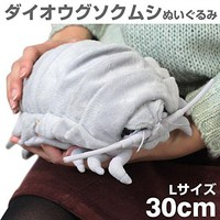 Sea Creature Giant Isopod Realistic Stuffed Plush Doll (L Size) / 30 cm