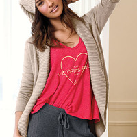 Shawl-collar Cardigan - A Kiss of Cashmere - Victoria's Secret