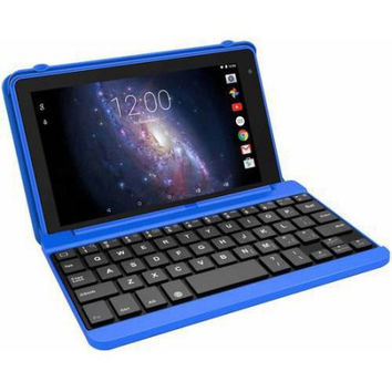 "7"" 2-in-1 Android Tablet 32GB Quad Core with Detachable Keyboard and Case"