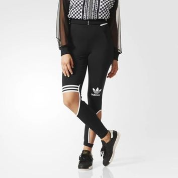"2016 ""Adidas""New Female Sweatpants Leisure Leggings"