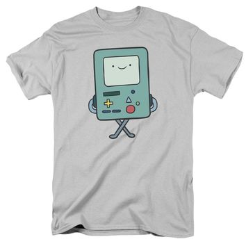 Adventure Time - Bmo Short Sleeve Adult 18/1 Shirt Officially Licensed T-Shirt