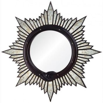 Antiqued Starburst Mirror by Michael Smith