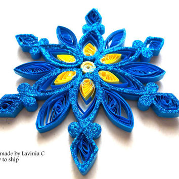 33/Christmas decoration,Christmas ornament,Christmas tree ,Christmas tree ornament,quilling star,snowflake,home decor,home ornament