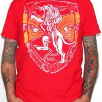 Rampant Lion T-Shirt - Fire Lion