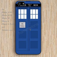 iPhone 4 5s 6 case blue door TARDIS dream colorful phone case iphone case,ipod case,samsung galaxy case available plastic rubber case waterproof B644