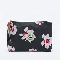 Obey Outsider Floral Pouch in Black - Urban Outfitters