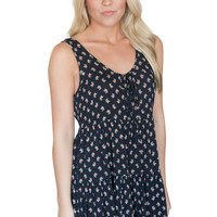 Finer Things Floral Open Back Dress
