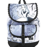 Disney Alice In Wonderland Slouch Backpack