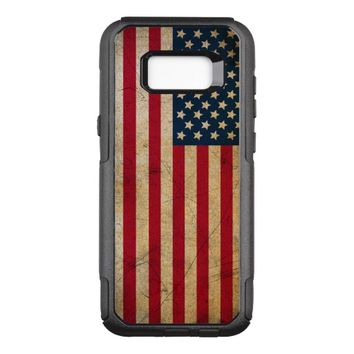 Vintage American Flag OtterBox Commuter Samsung Galaxy S8+ Case