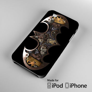 Gotham Steampunk A1259 iPhone 4 4S 5 5S 5C 6, iPod Touch 4 5 Cases