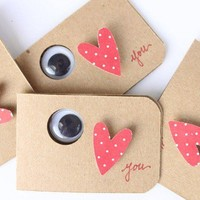 Love Note Cards - I Love You set of 4, I Love You Note Cards,  Love Notes - set of four