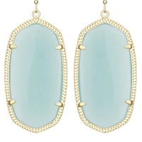 Danielle Earrings in Aqua - Kendra Scott Fashion Designer Jewelry - Earrings