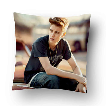 Justin bieber 2014 Pillow Cover