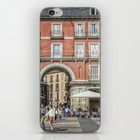 Relaxing cup, Madrid iPhone & iPod Skin by Architect´s Eye | Society6