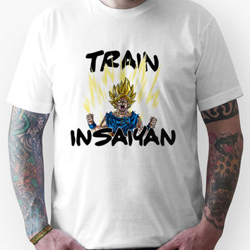 Train Insaiyan Goku Super Saiyan 2 Unisex T-Shirt