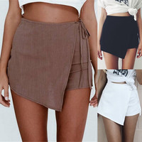 Sexy Hot Pants Summer Casual Shorts Beach High Waist Short Fashion Lady's Women