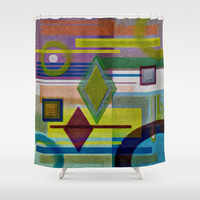 COLOR MOOD Shower Curtain by Robleedesigns