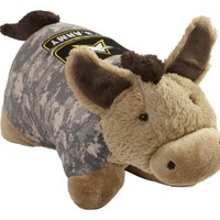 Operation Pillow Pets US Army Camo Folding Plush Pillow, 18-Inch