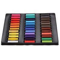 36 Colors Temporary Color Dye Hair Chalk Pastels DIY Tools Home - Default