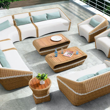 Amiga outdoor lounge set Large