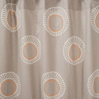 Alis Gray Shower Curtain