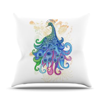 "Catherine Holcombe ""Peace"" Throw Pillow"