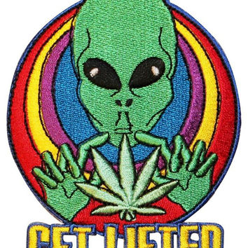 Get Lifted Alien Patch