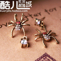 Europe fashion Vintage spider New Arrival Animal theme Cute earring