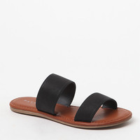 PacSun Double Strap Slide Sandals at PacSun.com
