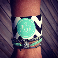 Monogrammed Bracelet / Personalized by SassySouthernGals on Etsy