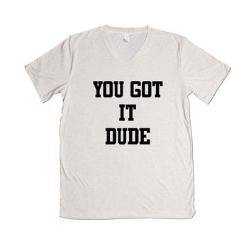 You Got It Dude TV Show Television Reference Series Full House Olsen Twins Family Children SGAL1 Unisex V Neck Shirt