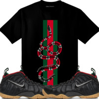 Gucci Foamposites Foams Sneaker Tees Shirt - WATCH OUT SNAKES