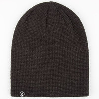 Volcom Loscoe Beanie Black One Size For Men 24848610001