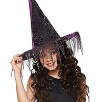 Girls Glitter Witch Hat - Spirithalloween.com
