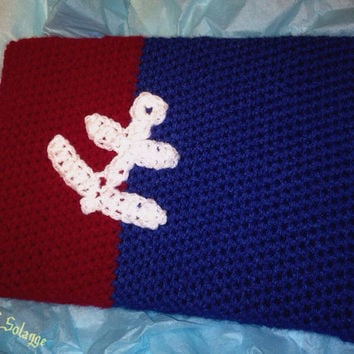 Crochet Ipad Cover Anchor Ipad Case Nautical