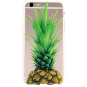 Pineapple Cover Case for iPhone 7 7Plus & iPhone 6s 6 Plus & iPhone X 8 Plus with Gift Box