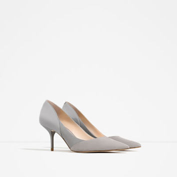 MID HEEL SHOES - View all-SHOES-WOMAN   ZARA United States