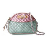 Gucci Laminated leather mini bag