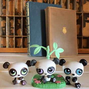 Littlest Pet Shop Panda Pairs, Littlest Pets, Little Pets on the Go, Lps On The Go, LPS, Littlest Pet Panda, LPS Panda, Collectible LPS