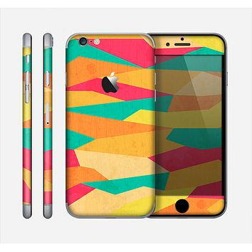 The Vibrant Bright Colored Connect Pattern Skin for the Apple iPhone 6