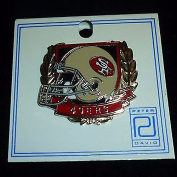 San Francisco 49ers Football Pin